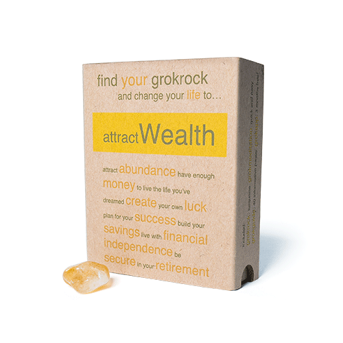 attractWealth box & crystal