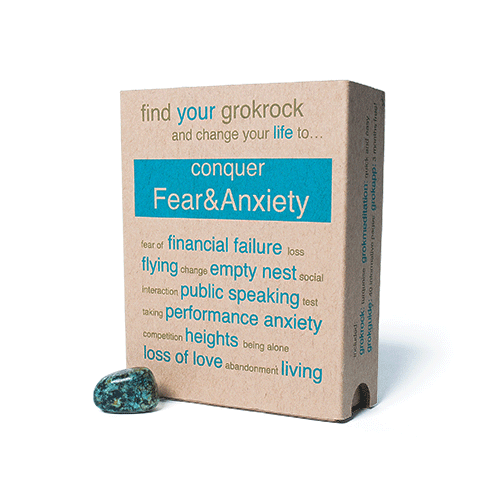 conquerFear&Anxiety box & crystal