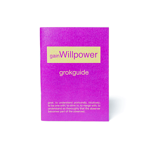 gainWillpower booklet